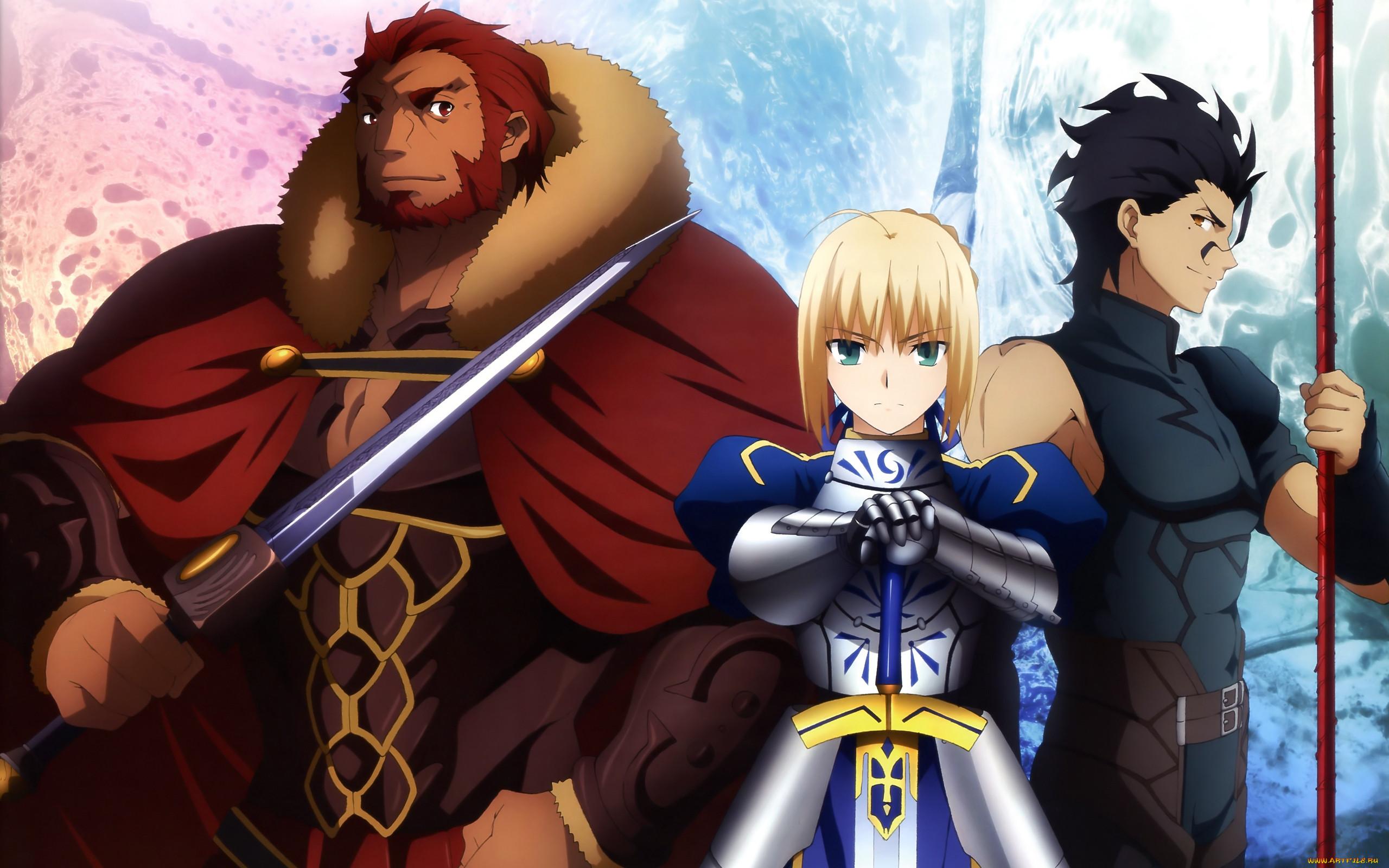 аниме, fate, zero,